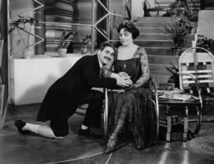 """Groucho Marx with Margaret Dumont """"Animal Crackers"""" Paramount 1930 ** I.V. - Image 0820_0451"""