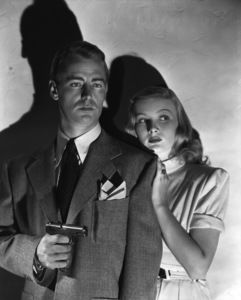 """""""The Blue Dahlia""""Alan Ladd, Veronica Lake1946 Paramount Pictures** I.V. - Image 0821_0167"""