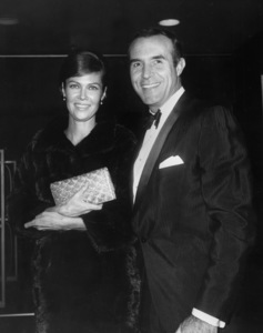 Ricardo Montalban with wife Georgiana Young1966Photo by Joe Shere - Image 0823_0059
