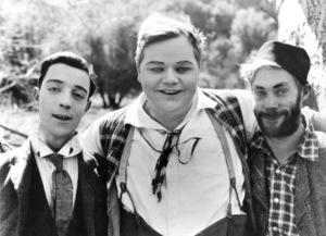 Fatty Arbuckle and Buster Keatonc. 1917 - Image 0829_0003