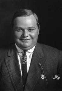 "Roscoe ""Fatty"" Arbuckle, c. 1920.Photo by Witzel**I.V. - Image 0829_0007"