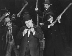"""Roscoe """"Fatty"""" Arbucklein """"Dollar -A-Year-Man""""1921 Paramount **I.V. - Image 0829_0010"""