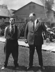"Roscoe ""Fatty"" Arbuckle & Buster KeatonC. 1916**I.V. - Image 0829_0023"