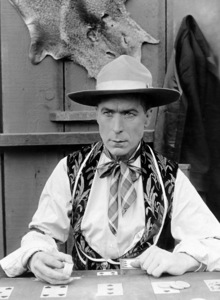 "William S. Hart in ""The Devil"