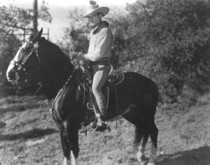Tom Mix, c. 1921. - Image 0835_0732