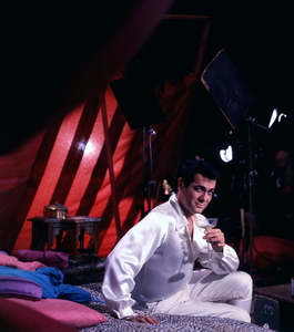 """Tony Curtis during the making of """"The Great Race""""circa 1964 © 1978 Bob Willoughby - Image 0845_0599"""