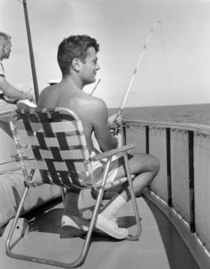 Tony Curtis fishing 1959** B.D.M. - Image 0845_0621