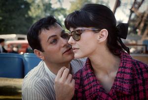 Christine Kaufmann and Tony Curtiscirca 1962© 1978 Bob Willoughby - Image 0845_0624