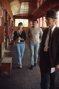 Christine Kaufmann and Tony Curtiscirca 1962© 1978 Bob Willoughby - Image 0845_0627