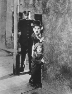 """Charles Chaplin and Jackie Coogan in """"The Kid"""" 1921 First National Pictures - Image 0860_0575"""