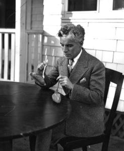 Charlie Chaplin, c. 1935.**I.V. - Image 0860_0667