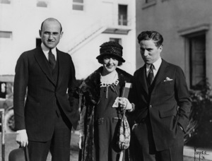 Sam Goldwyn, Mabel Normand, Charlie Chaplin, Photo By Albert J. Kopec, **I.V. - Image 0860_0677