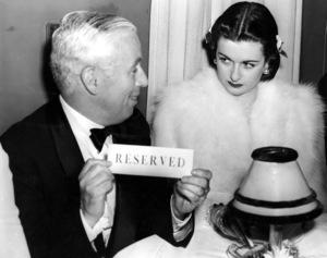 Charlie Chaplin & Joan BennettC. 1941**I.V. - Image 0860_0681
