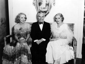 Charlie Chaplin, Claire Windsor & Mary PickfordC. 1933**I.V. - Image 0860_0683