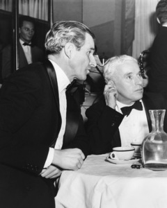 Charlie Chaplin at Stork Club with Tim DurantC. 1940**I.V. - Image 0860_0686