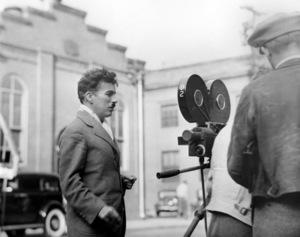 "Charlie Chaplinduring production of ""Modern Times""1936**I.V. - Image 0860_0693"