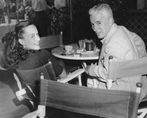 Charlie Chaplin and Paulette GoddardC. 1942** I.V. - Image 0860_0704
