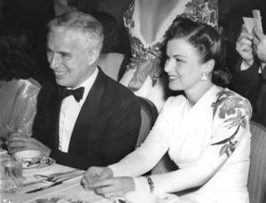 Charlie Chaplin and Carmen Figueroaat benefit for British War Relief1941** I.V. - Image 0860_0710