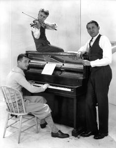 Charles Chaplin with Abe Lyman and Gus Arnheim circa 1920s** I.V. - Image 0860_0721