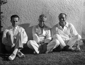Harold Lloyd, Charles Chaplin and Douglas Fairbankscirca early 1920s** I.V. - Image 0860_0722