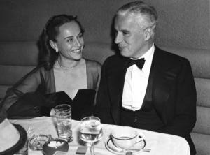 Charles Chaplin and Paulette Goddard1941** I.V. - Image 0860_0774