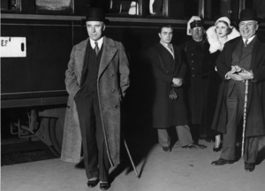 Charles Chaplin arrives in Paris1931** I.V. - Image 0860_0788