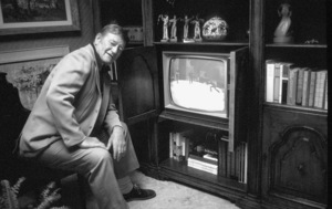 John Wayne at home, 1972. © 1978 David Sutton - Image 0868_3357