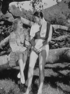 Ronald Reagan and first wife Jane WymanC. 1940MPTV - Image 0871_0025