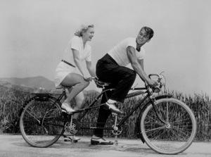 Ronald Reagan and wife Jane WymanC. 1940MPTV - Image 0871_0031
