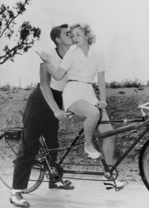 Ronald Reagan and wife Jane WymanC. 1940MPTV - Image 0871_0037