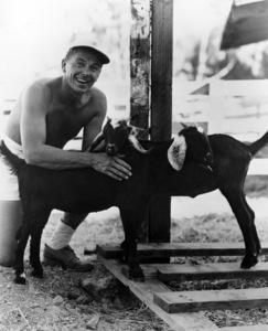 Ronald Reagan at his ranch in Northridge, Californiacirca 1952 - Image 0871_0100