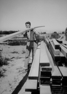 Ronald Reagan at his ranch in Northridge CaliforniaC. 1948MPTV - Image 0871_0128