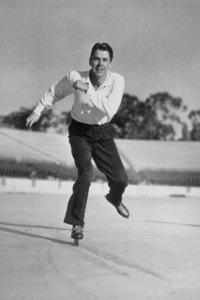 Ronald Reagan ice skatingC. 1942MPTV - Image 0871_0138