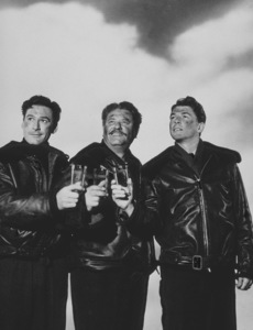 "Ronald Reagan, Alan Hale and Errol Flynn in""Desperate Journey""1942 Warner Bros.MPTV - Image 0871_0145"