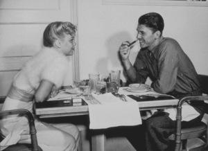 Ronald Reagan with first wife Jane WymanC. 1940MPTV - Image 0871_1120