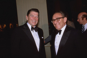 Ronald Reagan with Henry Kissinger1978 © 1978 GuntherMPTV - Image 0871_1612