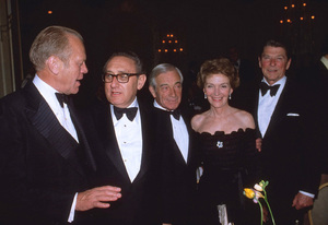 Ronald Reagan with Gerald R. Ford, Henry Kissinger and wife Nancy Reagan1978 © 1978 GuntherMPTV - Image 0871_1613