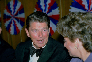 Ronald Reagan at Nassau GOP Republican Committeeevent1979 © 1979 GuntherMPTV - Image 0871_1625