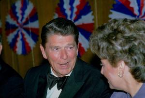 Ronald Reagan at Nassau GOP Republican Committeeevent1979 © 1979 GuntherMPTV - Image 0871_1625