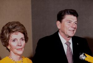 Ronald Reagan with wife Nancy Reagan1980 © 1980 GuntherMPTV - Image 0871_1626