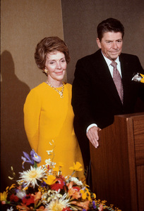 Ronald Reagan with wife Nancy Reagan1980 © 1980 GuntherMPTV - Image 0871_1628