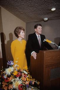 Ronald Reagan with wife Nancy Reagan1980 © 1980 GuntherMPTV - Image 0871_1630
