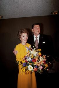 Ronald Reagan with wife Nancy Reagan  1980 © 1980 GuntherMPTV - Image 0871_1633