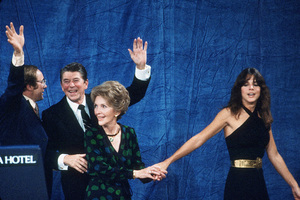 Ronald Reagan with Nancy and Patti Reagan at the Century Plaza HotelC. 1980 © 1980 GuntherMPTV - Image 0871_1644