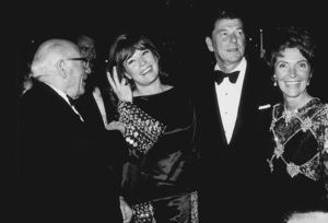 Ronald Reagan with Shirley MacLaine and wife Nancy ReaganC. 1972MPTV - Image 0871_1702