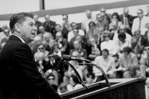 Ronald Reagan February 25, 1973 © 1978 GuntherMPTV - Image 0871_1713
