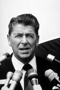Ronald Reagan February 25, 1973 © 1978 GuntherMPTV - Image 0871_1714