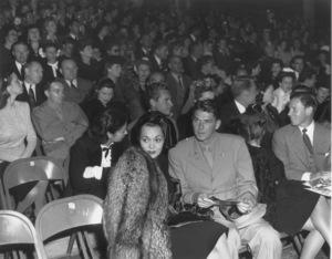 Ronald Reagan with first wife Jane WymanC. 1945MPTV - Image 0871_1717