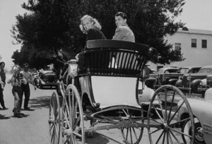 Ronald Reagan with first wife Jane WymanC. 1940MPTV - Image 0871_1728