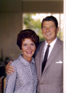 Ronald Reagan and wife Nancy Reaganat 1669 San Onofre Dr., Pacific Palisades, CA1966 © 1978 John Engstead**R.L. - Image 0871_1797
